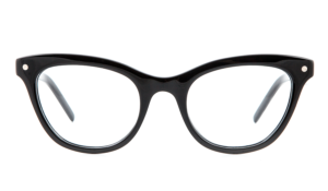 optical frames, cat eye frames, handmade glasses, black frames, black glasses