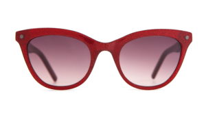 cat-eye, cat-eye frame, cat-eye sunglasses, designer sunglasses, women's sunglasses, 50s, red graded lenses, red lenses, carl zeiss vision,