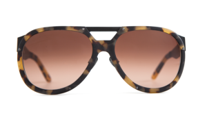 turtle, tortoiseshell, havana, men's sunglasses, unisex, designer eyewear, designer sunglasses, metal frame, studs, brown graded lenses, combination frames, titanium nose pads, custom made, carl zeiss vision